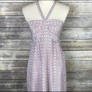 NWT Madewell Convertible Halter Echo dress